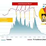 Tweets and TV Audience Correlations